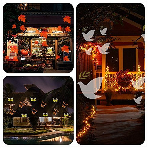 Christmas Projector Lights.Projection Lamp Christmas Projector Lights 12 Pattern Garden Spotlights Landscape Light For Birthday Wedding Party House Wall Decoration