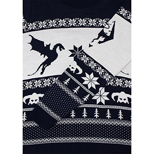 official skyrim christmas jumper sweater get ahead christmas
